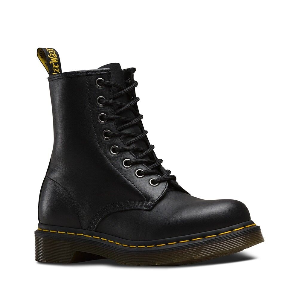 Dr Martens Mens Unisex Boots 1460 R11822002 Black Nappa Leather