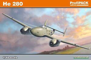 Eduard-1-48-Kit-de-Modelismo-8068-Heinkel-He-280-Profipack