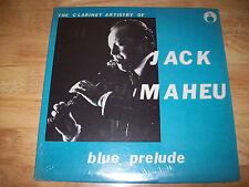"Jack Maheu Blue Prelude STILL in PLASTIC 12"" LP NEAR MINT unsealed FAT CAT JAZZ"