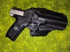 LEFT HAND HOLSTER BLACK CARBON FIBER KYDEX SMITH AND WESSON S&W SW22 Victory