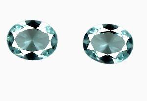 Aquamarine-3-75-Ct-Loose-Gemstone-Pair-100-Natural-9-x-7-mm-Oval-Cut-Certified