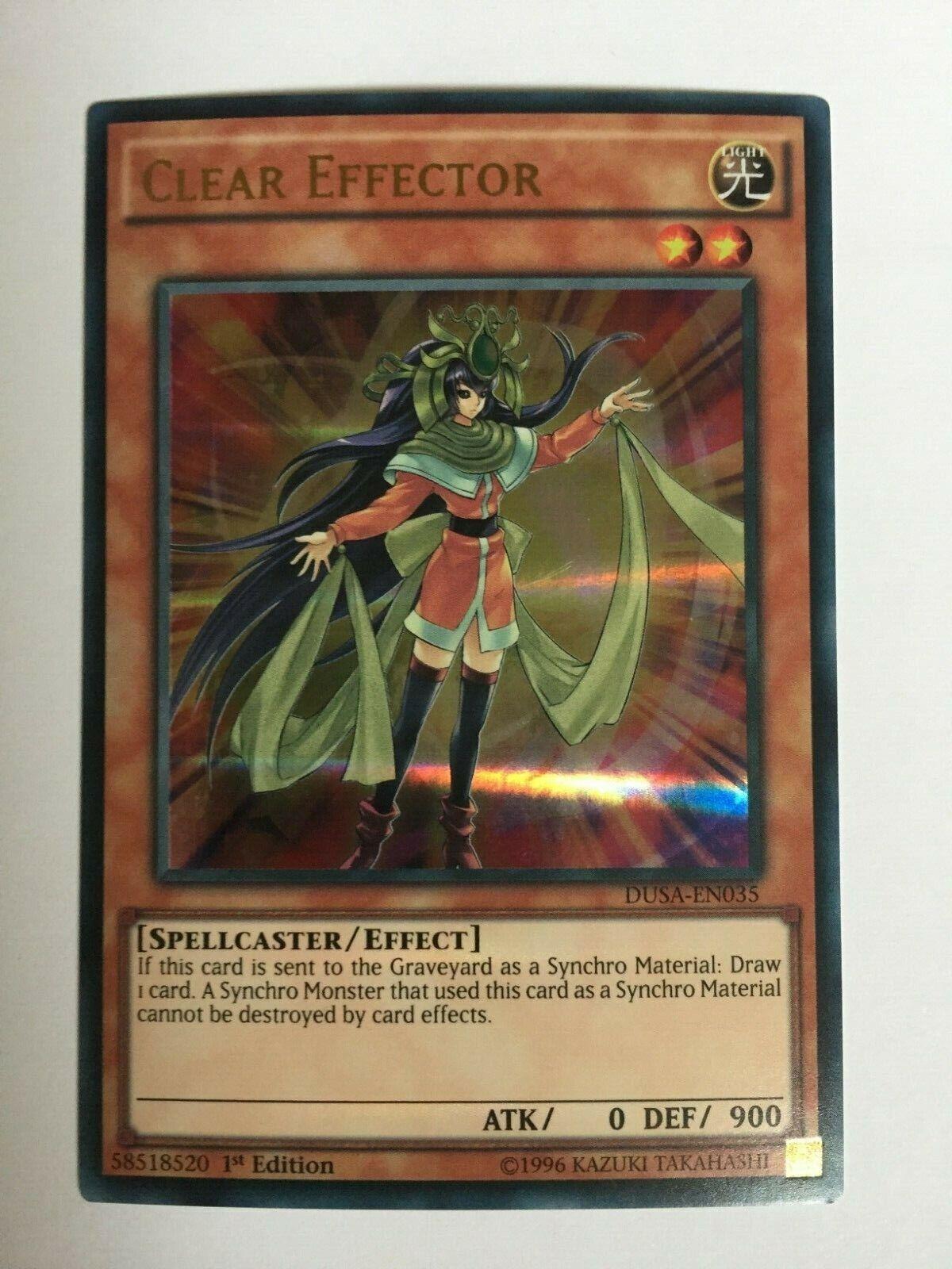 DUSA-EN035 - Ultra Rare Near Mint Clear Effector 1st Edition