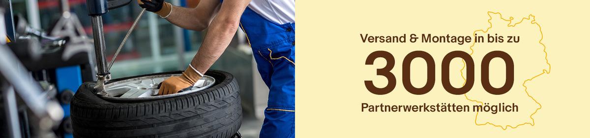Aktion ansehen Jetzt bei eBay! Reifen inklusive Montage Unsere Top 600 Reifenmodelle