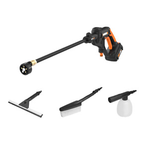 WORX WO7072 20V Power Share Hydroshot Portable Power Cleaner w/ Household Bundle