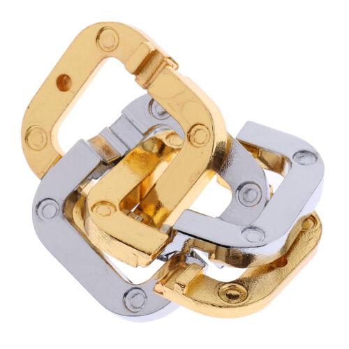 IQ-Test Denkspiel Knobelspiele 3D Puzzle Metallpuzzle Schlösser IQ-Spiel Set