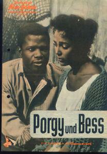 """IFB Illustrierte Film Bühne Nr. 05500 """" Porgy und Bess """""""