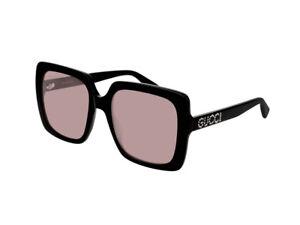 Occhiali-da-Sole-GUCCI-autentici-GG0418S-nero-rosa-donna-002