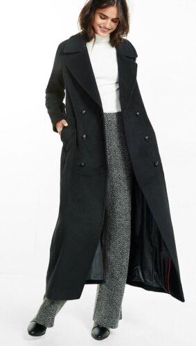 femmes Manteau 298 Out» Nwt Maxi pour «Sold laine Express de femmes pour Valeur en mélange de m8n0wvN