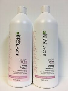 Matrix-Biolage-Sugar-Shine-Shampoo-amp-Conditioner-Liter-Duo-Set-33-8oz
