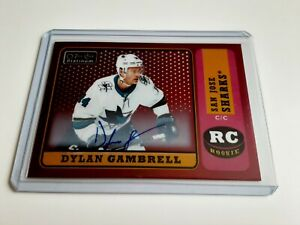 2018-19-OPC-Platinum-Dylan-Gambrell-Auto-Red-Rainbow-Rookie-Retro-R-81-Rc
