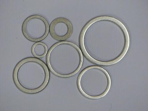 100 pièces Alu vidange 14x20x1,5 mm m 14
