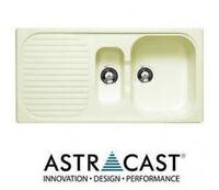 Astracast Msk 1.5 Composite Champagne Beige Kitchen Sink