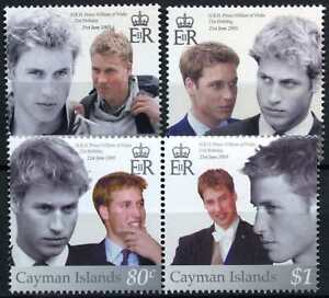 Cayman Is. 2003 SG#1015-18 Prince William 21th Birthday MNH Set #D75602 GLL2x0jY-07161636-400717020