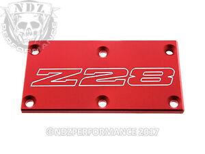 TPI Throttle Body Plate Chevy Camaro Z28 Iroc Bowtie Racing RG Black