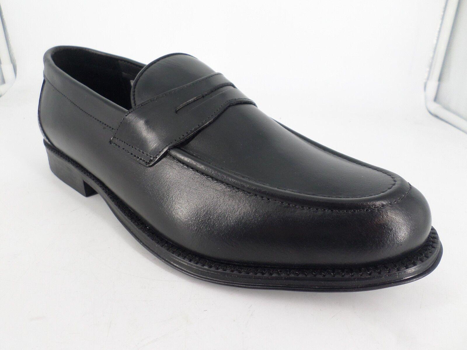 Clifford James Penny Loafer Men's Real Leather shoes JS39 98 SALEx