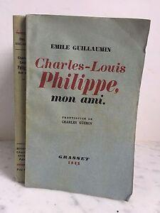 Emile Guillaumin Mon Countryman Charles-Louis Philippe Bernard Grasset 1942