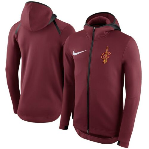 Team Red Nike Cavs Flex con 150 capucha Nba Cleveland Therma Medium Chaqueta Cavaliers qwvtzqFr