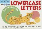 Grow to Know Lowercase Letters (2015, Taschenbuch)