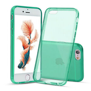 iPhone-6S-iPhone-6-case-Bumper-Silicone-Case-Cover-Protective-Frosted-Green