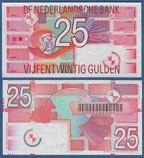 NIEDERLANDE / NETHERLANDS 25 Gulden 1989 UNC P.100