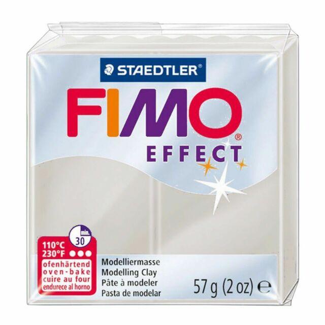 Staedtler Fimo Argilla Polimero Morbida 2 Ounces-8020-0 Bianco