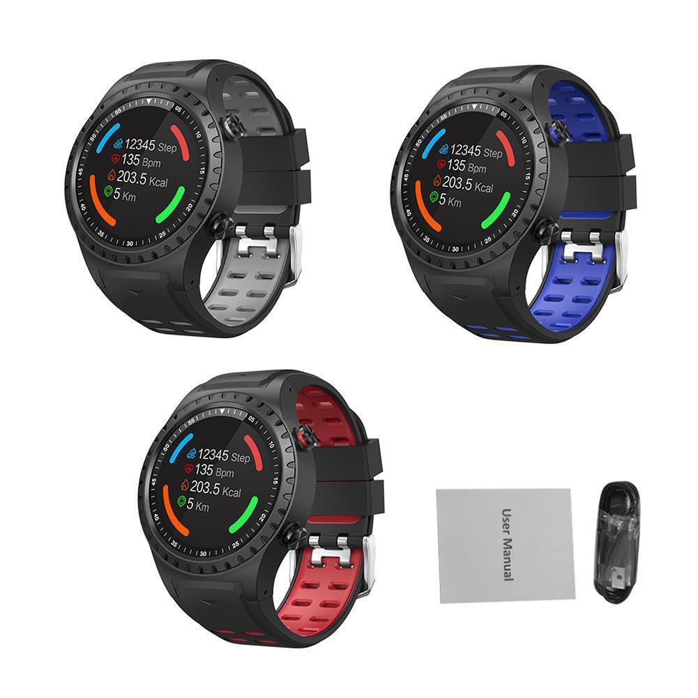 SMA-M1 GPS Sport Blautooth Call Watch Compass Outdoor Sport Smart Watch IP65