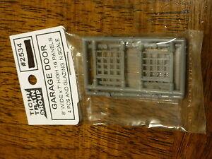 """2545 tichy group  baggage door  72/""""W X 80/""""H  N SCALE 4 PCS"""
