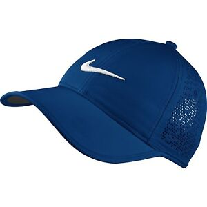 Image is loading NEW-Deep-Bl-Nike-WOMEN-Ultralight-Perforated-Adjustable- e088ff068544