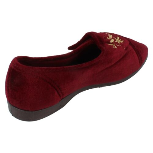 Femmes Freestep Crochet /& Look Pantoufles KV7R84//KV7R85