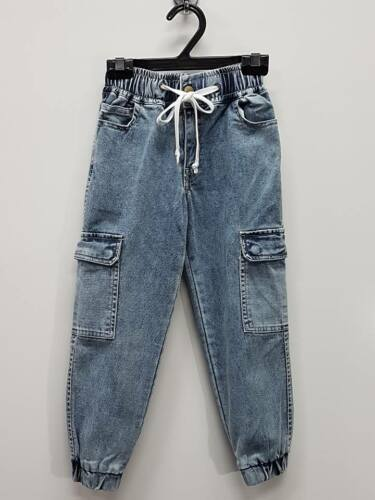 Boy Pants Size 3 Denim Jean Casual Harem Stretchable Bot Party Kid CS569 Blue