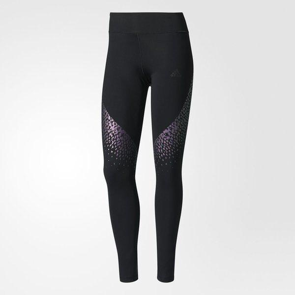 Adidas Wow Drop 3 Tights (B45791) Utimate Rainbow Running Yoga Tight Pants