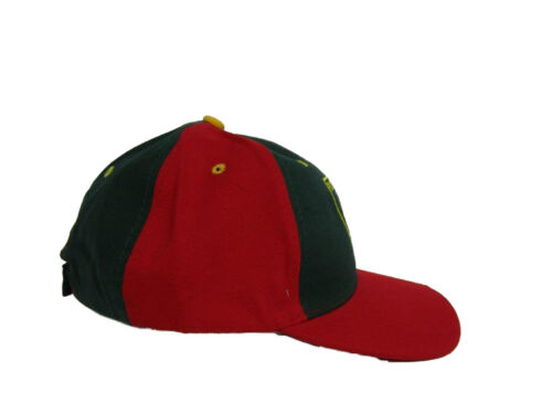 RUF Portugal Portuguese Red and Green Baseball Hat Cap 3D embroidered