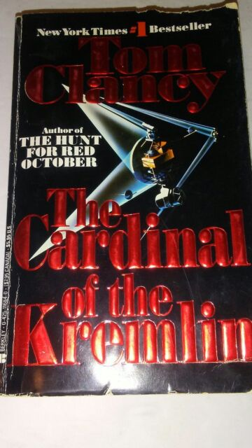The Cardinal Of The Kremlin 3 Tom Clancy (1989, Taschenbuch)