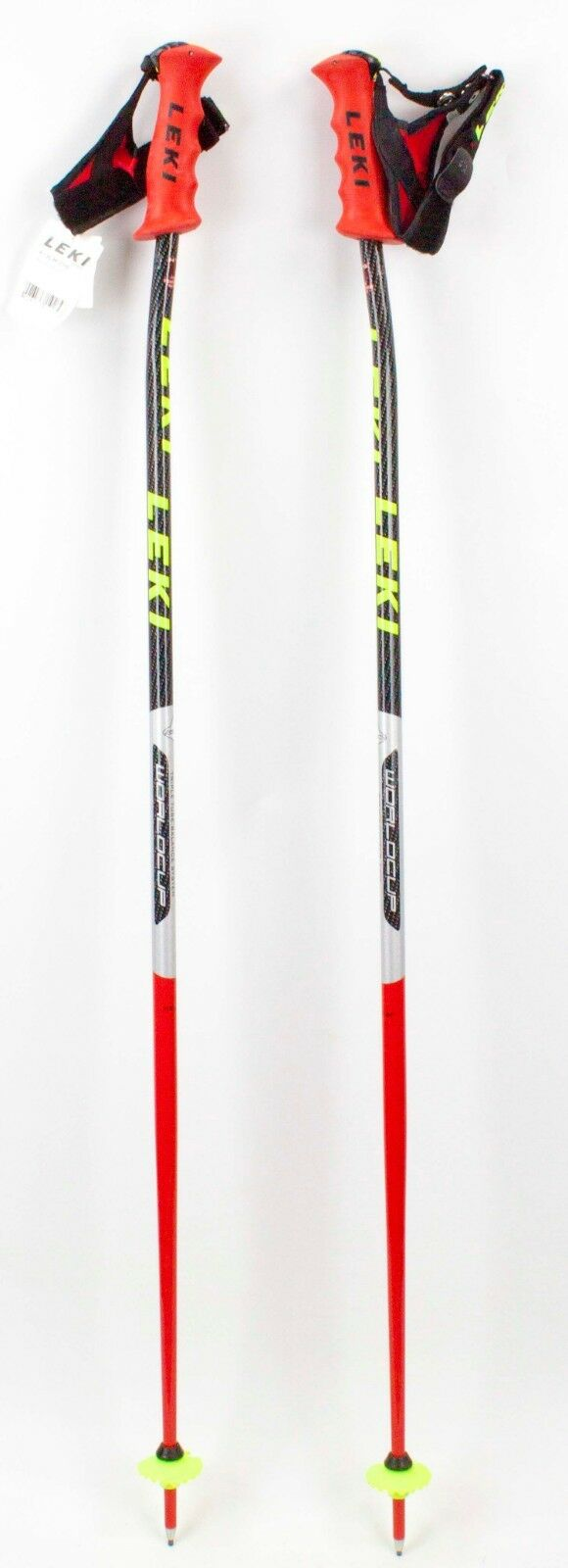 NEW  250 LEKI World Cup Racing  Ski Poles 110CM 44  Downhill Skiing Carbon  up to 60% off