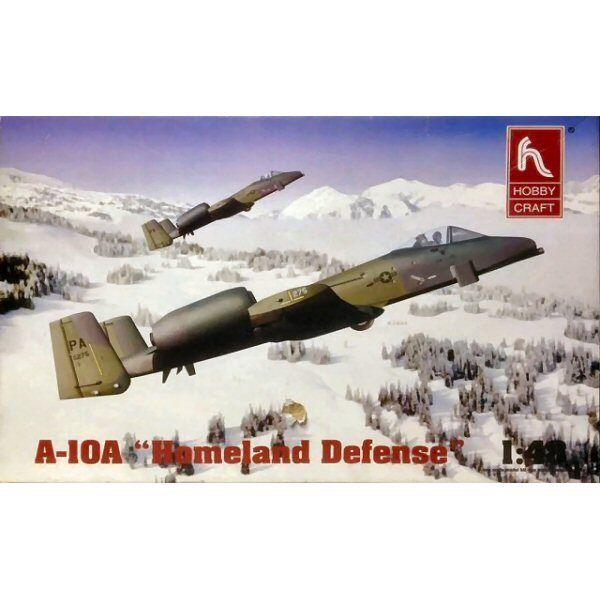 HobbyCraft HC1427 A10A Homeland Defence 1 48 scale plastic model