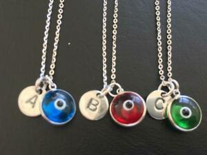 Sterling-Silver-Evil-Eye-Mati-Initial-Disc-Necklace-Alphabet-Letter-Personalised