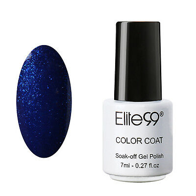 Elite99 Soak Off UV LED Color Gel Polish Collection Base Top Coat Nail Art 7ml