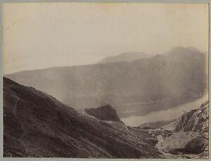 Croacia? Montenegro? Foto Vintage Citrato Aprox 1890