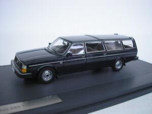 VOLVO-245-Transfer-LWB-1978-SCURO-BLU-1-43-Matrix-scala-modello-mx12106-051