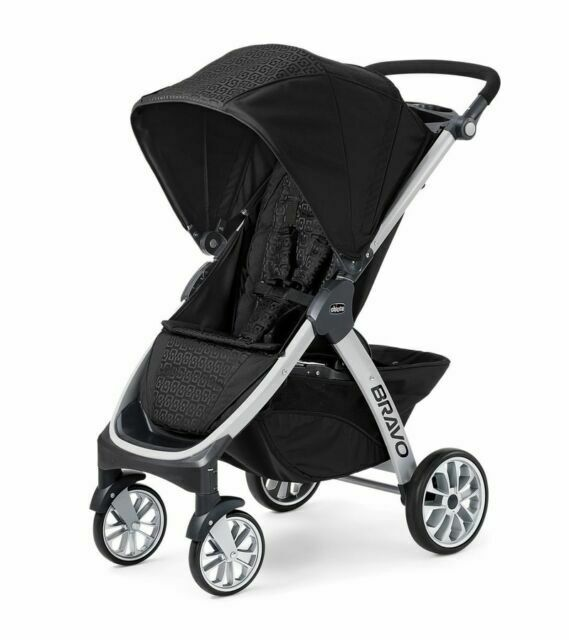 Ombra Chicco Bravo Trio Quick Fold Auto Positioning Baby Infant Stroller