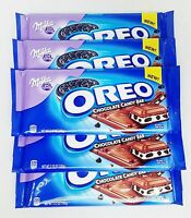 10 Bars Milka Oreo Chocolate Candy Bar Cookie Candy Bar 3.52 Oz Ea