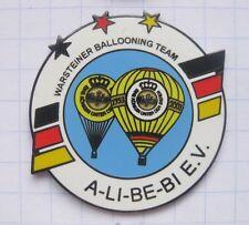 A-LI-BE-BI E.V. / WARSTEINER BALLOONING TEAM  ... Bier-Ballon-Pin (126f)