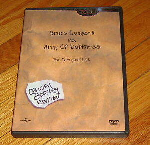 Details about Army of Darkness Director's Cut Official Bootleg Edition DVD