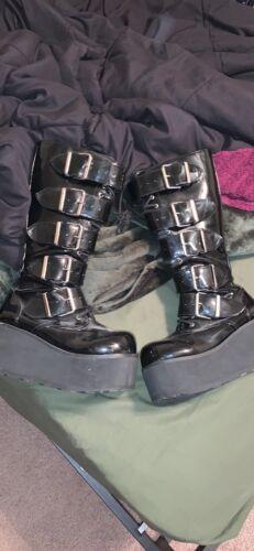 gothic platform boots demonia