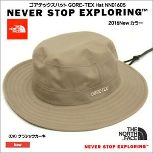 f7f528b3c2d The North Face Gore-Tex Hat TNF Khaki Large Japan exclusive NN01605 ...