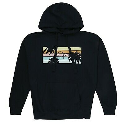 Mens Sunset Ocean Pacific Sizes S-XXL Official Grey Pullover hoodie