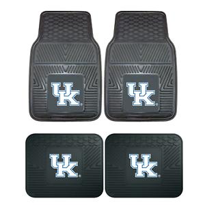 University-of-Kentucky-2pc-amp-4pc-Mat-Sets-Heavy-Duty-Cars-Trucks-SUVs