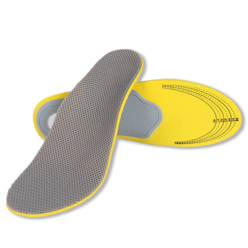 High Memory Foam Orthotic Arch Insoles Shoe Pads Foot Heel Cushion Pain Relief
