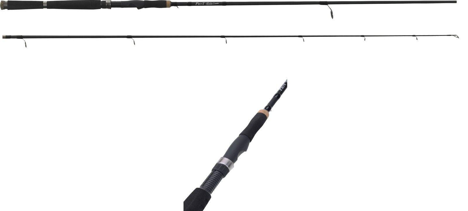 PRO-T schwarz Zander   3 00m   15-55g  von SÄNGER Spinnrute für Zander