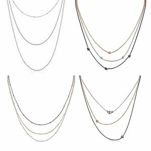 Amberta-925-Sterling-Silver-Adjustable-Multi-Layered-Chain-Necklace-for-Women